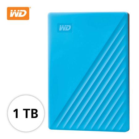 WD NEW MY PASSPORT 1 TB (WDBYVG0010BBL-WESN) - BLUE