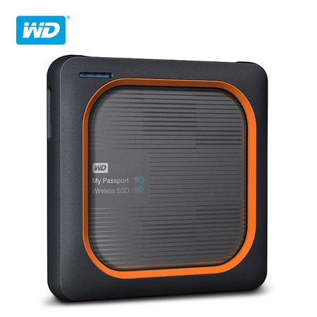 WD NEW MY PASSPORT WIRELESS SSD รุ่น WDBAMJ0010BGY-PESN 1 TB