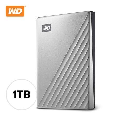 1 TB WD MY PASSPORT ULTRA SILVER WDBC3C0010BSL-WESN