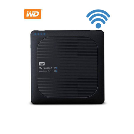 WD MYPASSPORT WIRELESS PRO 2TB (WDBP2P0020BBK-PESN)