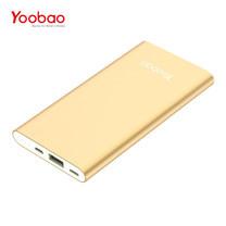 แบตเตอรี่สำรอง Yoobao Power Bank YB-P8 8000mAh - Gold