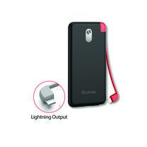 Yoobao Built-in Cable Power Bank S8K 8000mAh Black – Lightning