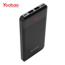 แบตเตอรี่สำรอง Yoobao Power Bank รุ่น YB-P16Pro 16000mAh - Black