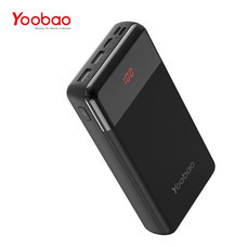 แบตเตอรี่สำรอง YOOBAO POWERBANK P2W PREMIUM EDITION 20000 MAH - Black
