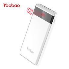 แบตเตอรี่สำรอง Yoobao Power Bank รุ่น YB-P30L 30000mAh - White