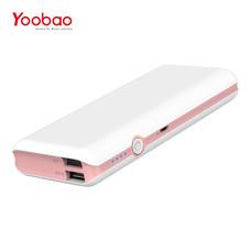แบตเตอรี่สำรอง Yoobao Power Bank YB-M18 18000mAh - Pink