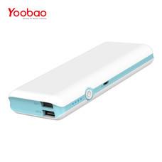 แบตเตอรี่สำรอง Yoobao Power Bank YB-M18 18000mAh - Blue