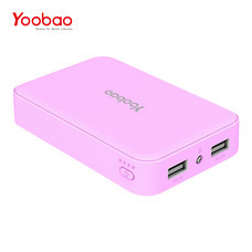 แบตเตอรี่สำรอง Yoobao PowerBank YB-M25 20000mAh - Pink