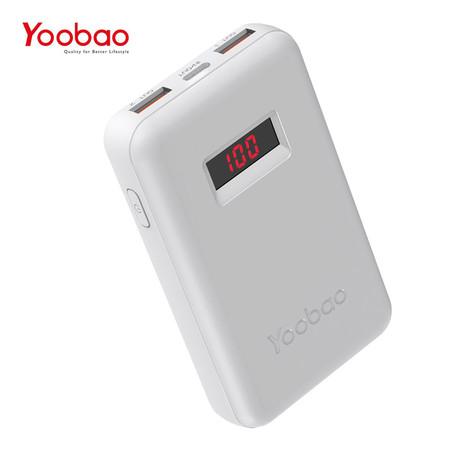 Yoobao Power Bank PD13 3.0 13000 mAh - White