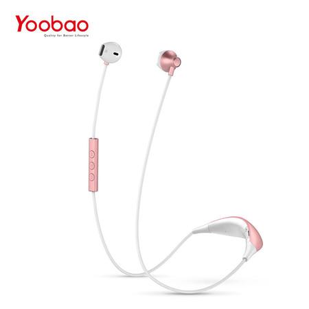หูฟังบลูทูธ Yoobao Bluetooth Headset YBL-112 - Rose Gold