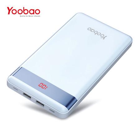 แบตเตอรี่สำรอง Yoobao Power Bank รุ่น YB-P30L 30000mAh - Blue