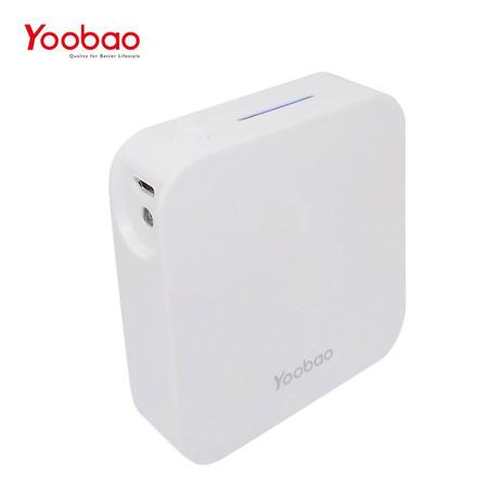 แบตเตอรี่สำรอง Yoobao Power Bank รุ่น YB-C13 13000mAh - White