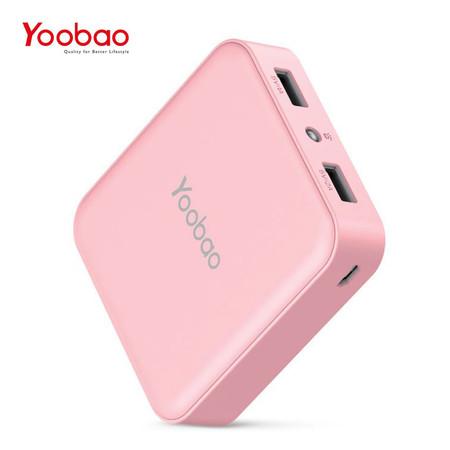 แบตเตอรี่สำรอง YOOBAO MASTER POWERBANK M25-V2 20000 MAH - Pink