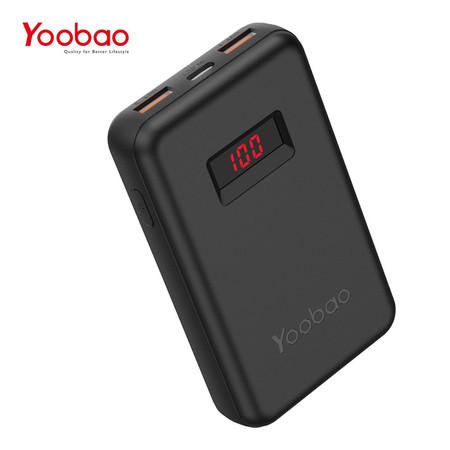 Yoobao Power Bank PD13 3.0 13000 mAh - Black