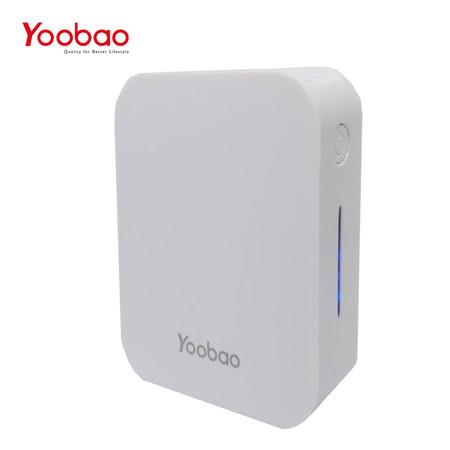 แบตเตอรี่สำรอง Yoobao Power Bank รุ่น YB-C7 7000mAh - White