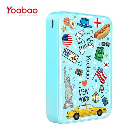แบตเตอรี่สำรอง Yoobao Power Bank YB-M25-S1 20000 mAh - Blue