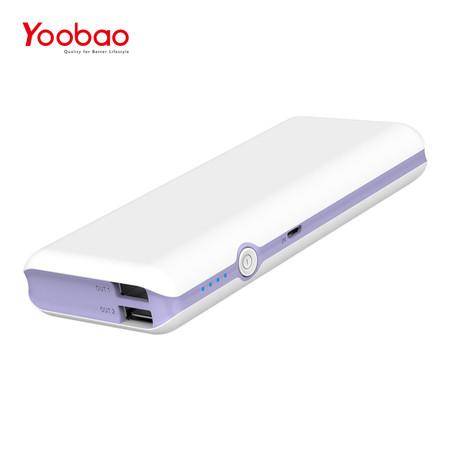แบตเตอรี่สำรอง Yoobao Power Bank YB-M18 18000mAh - Purple