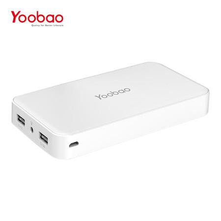 แบตเตอรี่สำรอง Yoobao Power Bank YB-M30 30000mAh - White