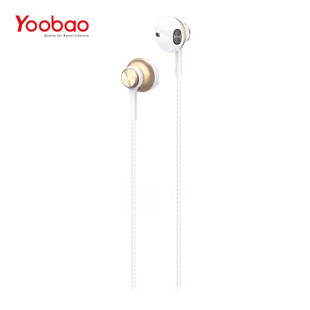 หูฟัง Yoobao Wire earphone YBL2 - Gold