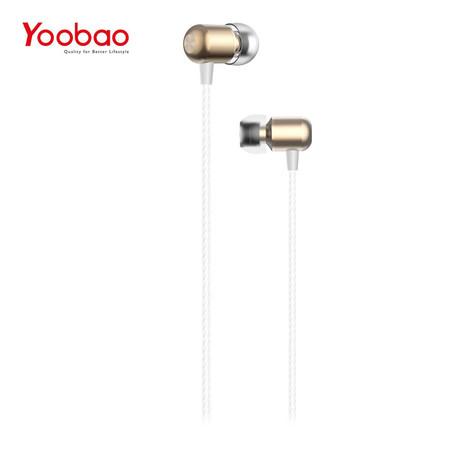 หูฟัง Yoobao Wire earphone YBL1 - Gold
