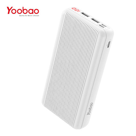 Yoobao Power Bank B20 30000 mAh - White