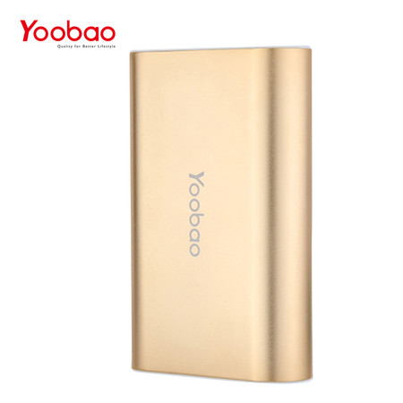 แบตเตอรี่สำรอง Yoobao Power Bank YB-SP10 10000mAh - Gold
