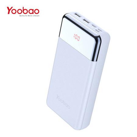 แบตเตอรี่สำรอง YOOBAO POWERBANK P2W PREMIUM EDITION 20000 MAH - Blue