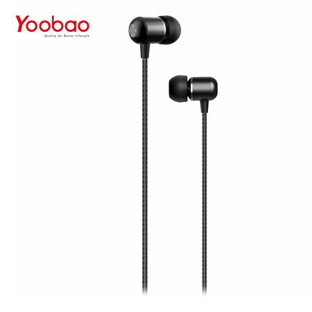 หูฟัง Yoobao Wire earphone YBL1 - Black