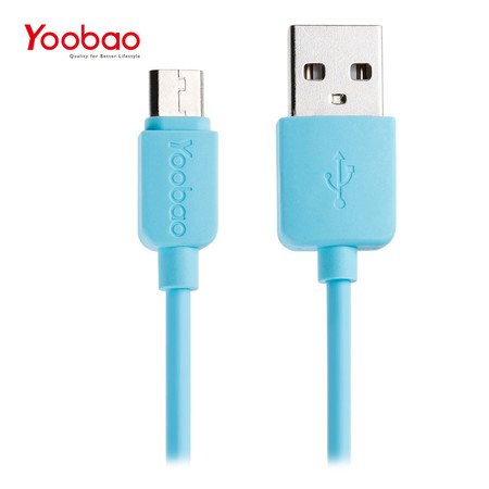 สายชาร์จ Yoobao Micro USB YB411 100 cm. - Blue