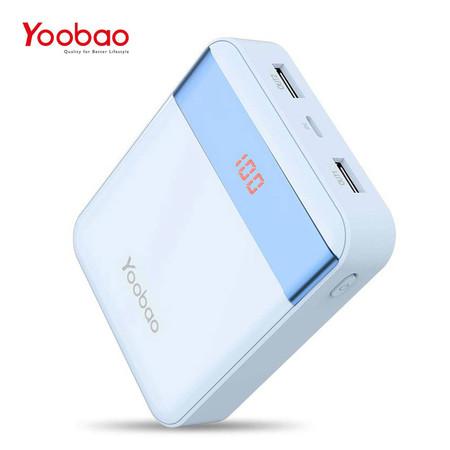 แบตเตอรี่สำรอง YOOBAO POWERBANK Q20C 20000 MAH - Blue