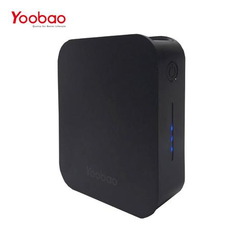 แบตเตอรี่สำรอง Yoobao Power Bank รุ่น YB-C7 7000mAh - Black