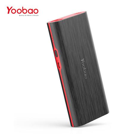 แบตเตอรี่สำรอง Yoobao Power Bank YB-M18 18000mAh - Black