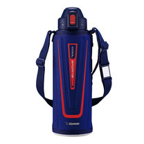 Zojirushi Cool Bottles กระติกน้ำสุญญากาศเก็บความเย็น 1.5 ลิตร รุ่น SD-EC15 AD - สีน้ำเงิน