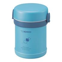 Zojirushi Lunch Jars ปิ่นโตอาหารสุญญากาศเก็บความร้อน 0.63 ลิตร รุ่น SL-MEE07 AB - สีฟ้า