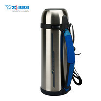 Zojirushi Bottles with cup กระติกน้ำสุญญากาศเก็บความร้อน/เย็น ฝาเป็นถ้วย 1.8 ลิตร รุ่น SF-CC18 XA - สีสเตนเลส