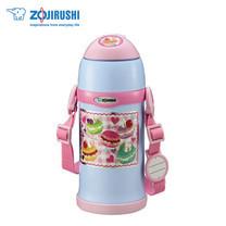 Zojirushi For Kids กระติกน้ำสุญญากาศเก็บความร้อน/เย็น สำหรับเด็ก 0.6 ลิตร รุ่น SC-ZT60 AZ - สีชมพู-ฟ้า