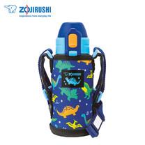 Zojirushi For Kids กระติกน้ำสุญญากาศเก็บความเย็น สำหรับเด็ก 0.36 ลิตร รุ่น SD-CKE36 AA - สีน้ำเงิน