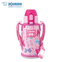 Zojirushi For Kids กระติกน้ำสุญญากาศเก็บความเย็น สำหรับเด็ก 0.36 ลิตร รุ่น SD-CKE36 PA - สีชมพู