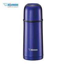 Zojirushi Bottles with cup กระติกน้ำสุญญากาศเก็บความร้อน/เย็น ฝาเป็นถ้วย 0.35 ลิตร รุ่น SV-GR35 AA - สีน้ำเงิน