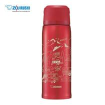 Zojirushi Bottles with cup กระติกน้ำสูญญากาศเก็บความร้อน/เย็น ฝาเป็นถ้วย 0.82 ลิตร รุ่น SJ-JS08 RA - สีแดง