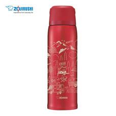 Zojirushi Bottles with cup กระติกน้ำสูญญากาศเก็บความร้อน/เย็น ฝาเป็นถ้วย 1.03 ลิตร รุ่น SJ-JS10 RA - สีแดง