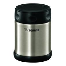 Zojirushi Food Jars กระติกอาหารสุญญากาศเก็บความร้อน/เย็น 0.5 ลิตร รุ่น SW-EAE50 XA - สีสเตนเลส