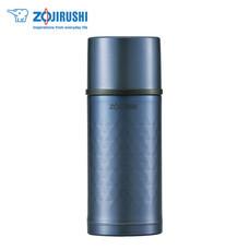 Zojirushi กระติกน้ำสุญญากาศเก็บความร้อน/เย็น ฝาเป็นถ้วย 0.35 ลิตร รุ่น SV-HA35 AX - สีฟ้า
