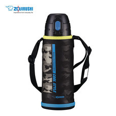 Zojirushi For Kids กระติกน้ำสูญญากาศเก็บความร้อน/เย็น สำหรับเด็ก 0.82 ลิตร รุ่น SP-JA08 BZ - สีดำ