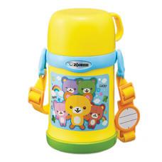 Zojirushi For Kids กระติกน้ำสูญญากาศเก็บความร้อน/เย็น สำหรับเด็ก 0.45 ลิตร รุ่น SC-ZT45 YZ - สีเหลือง