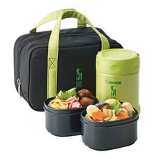 Zojirushi Food Jars กระติกอาหารสุญญากาศเก็บความร้อน/เย็น 0.35 ลิตร รุ่น SW-EZE35 GA - สีเขียว