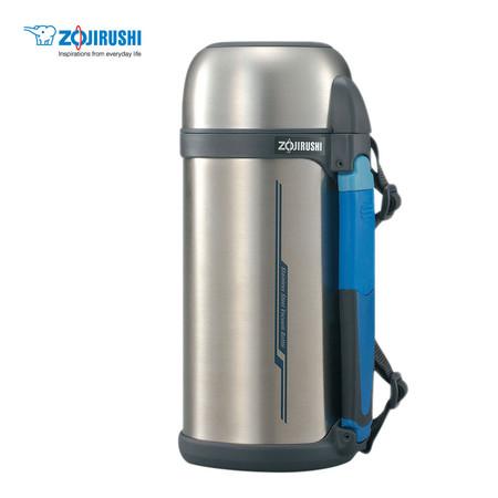 Zojirushi Bottles with cup กระติกน้ำสุญญากาศเก็บความร้อน/เย็น ฝาเป็นถ้วย 1.5 ลิตร รุ่น SF-CC15 XA - สีสเตนเลส
