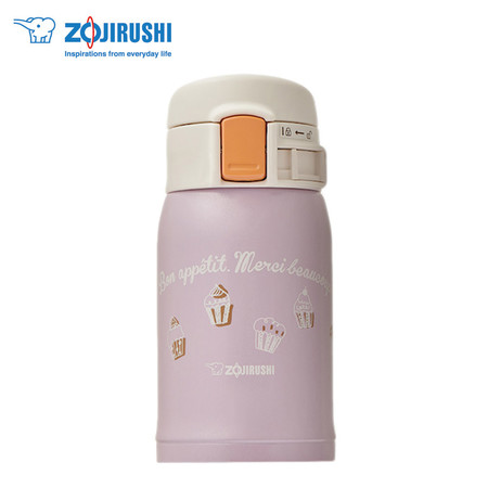Zojirushi กระติกน้ำสุญญากาศเก็บความร้อน/เย็น 0.24 ลิตร รุ่น SM-SP24 VZ - สีม่วง