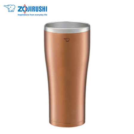 Zojirushi Tumbler แก้วเก็บความร้อน/เย็น 0.60 ลิตร รุ่น SX-DN60 NC - สีน้ำตาล