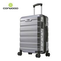 CONWOOD กระเป๋าเดินทาง รุ่น CT866 ขนาด 24 นิ้ว สี SILVER
